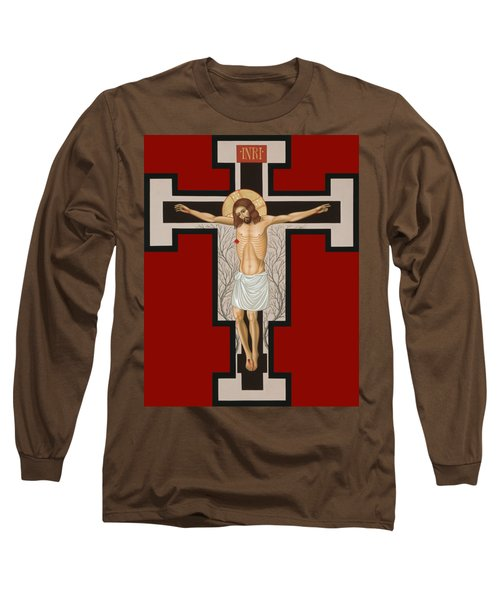 The Crucified Lord 017 Long Sleeve T-Shirt