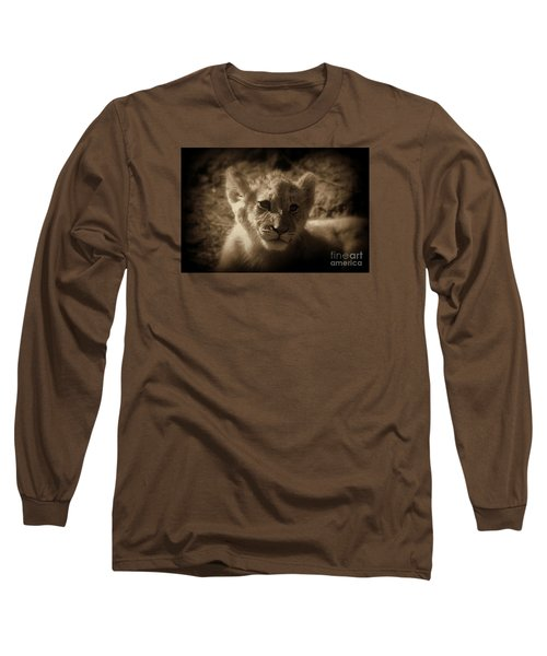 Long Sleeve T-Shirt featuring the photograph The Cub by Lisa L Silva
