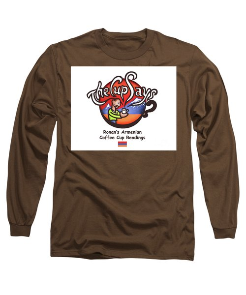 The Cup Says Logo Long Sleeve T-Shirt