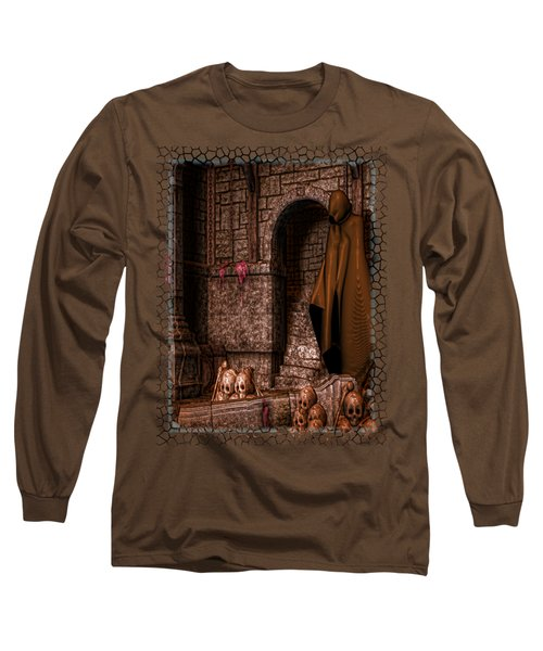 The Dark Long Sleeve T-Shirt by Sharon and Renee Lozen