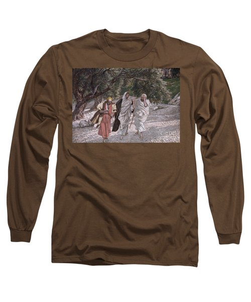 The Disciples On The Road To Emmaus Long Sleeve T-Shirt