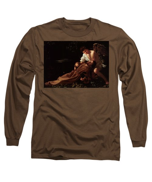 The Ecstacy Of Saint Francis Of Assisi Long Sleeve T-Shirt