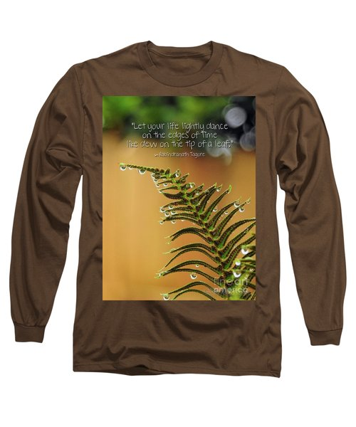 Long Sleeve T-Shirt featuring the photograph The Edges Of Time by Peggy Hughes
