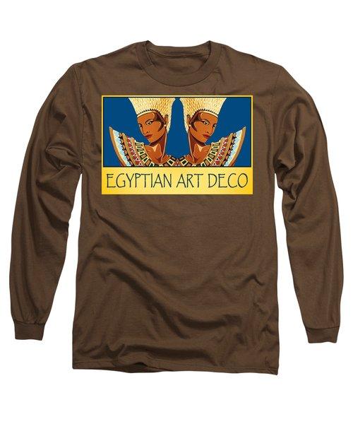 The Egyptian Twins Long Sleeve T-Shirt by Tara Hutton