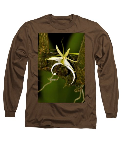 The Elusive And Rare Ghost Orchid Long Sleeve T-Shirt