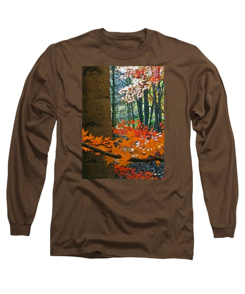 Long Sleeve T-Shirt featuring the photograph The Ever Elusive Power Lines  But I Got Them by Cliff Spohn