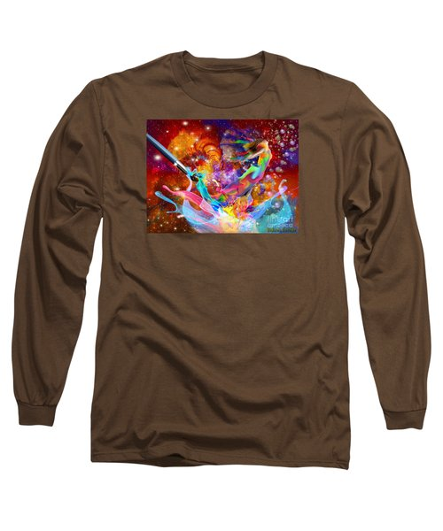 The Fathers Paint Brush Long Sleeve T-Shirt by Dolores Develde