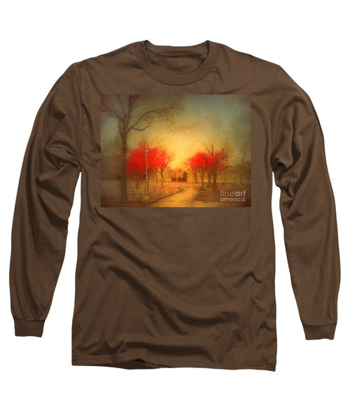 The Fire Trees Long Sleeve T-Shirt