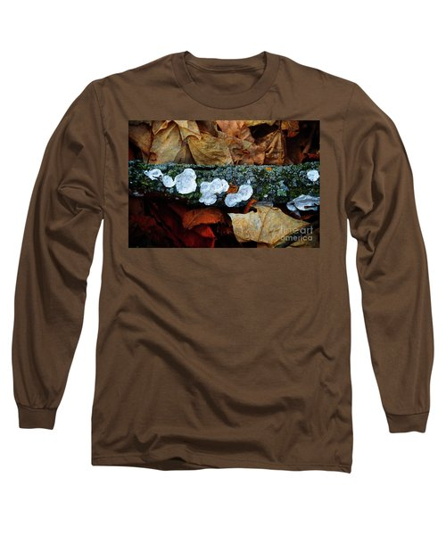 Long Sleeve T-Shirt featuring the photograph The Forest Floor - Cascade Wi by Mary Machare