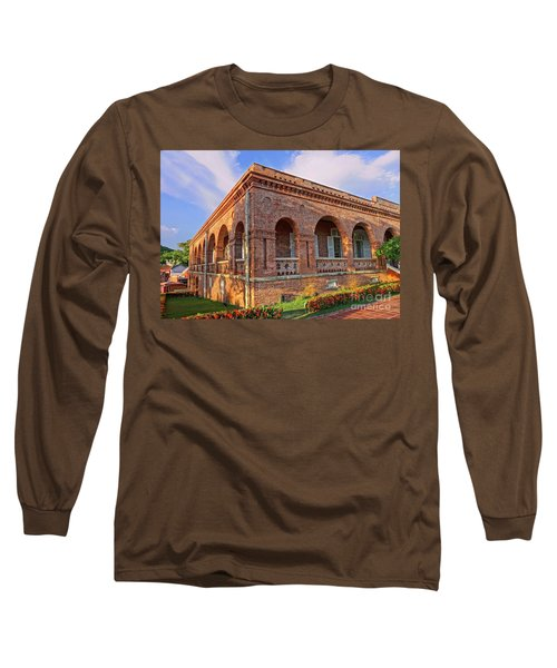 Long Sleeve T-Shirt featuring the photograph The Former British Consulate In Kaohsiung In Taiwan by Yali Shi