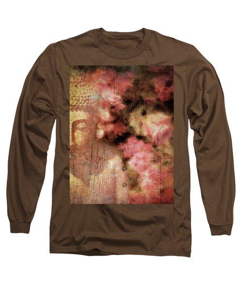 The Garden Buddha 1 Long Sleeve T-Shirt