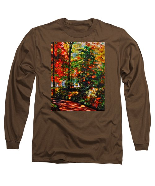 The Garden Long Sleeve T-Shirt by Emery Franklin