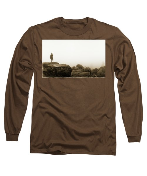 The General's View Long Sleeve T-Shirt by Jan W Faul