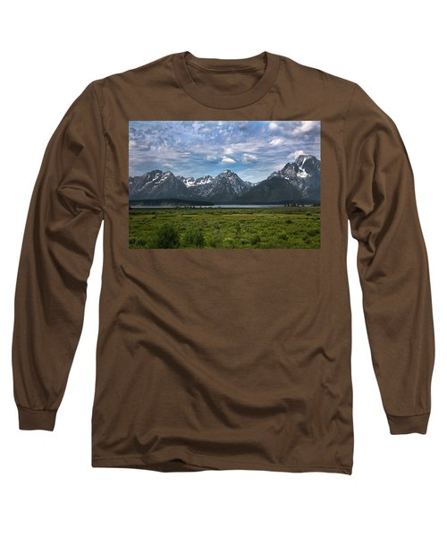 The Grand Tetons Long Sleeve T-Shirt