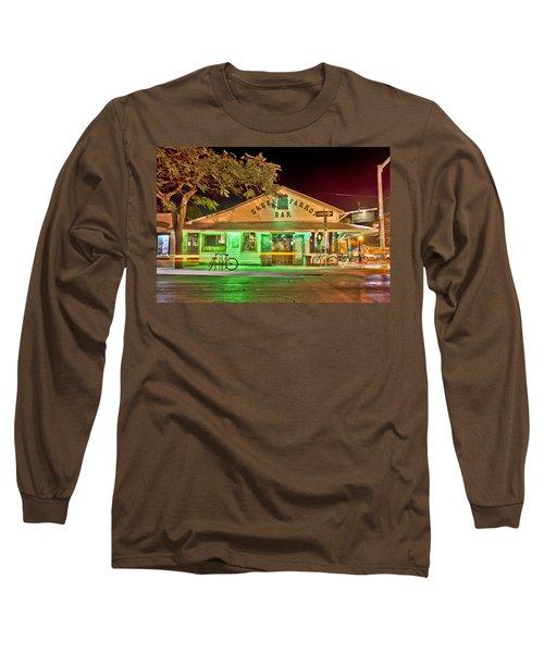 The Greeen Parrot Long Sleeve T-Shirt