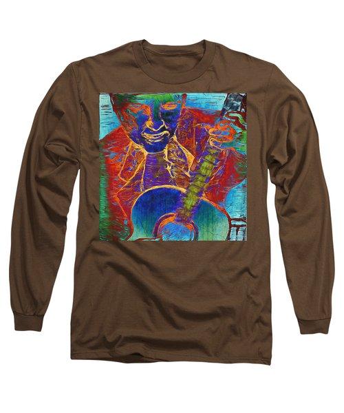 The Guitar Man - Two Long Sleeve T-Shirt