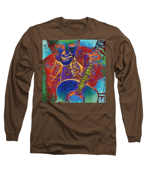 The Guitar Man - Two Long Sleeve T-Shirt