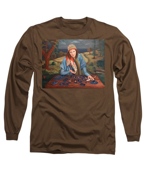 The Gypsy Fortune Teller Long Sleeve T-Shirt