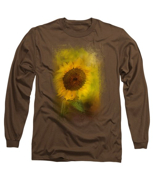 The Happiest Flower Long Sleeve T-Shirt by Jai Johnson