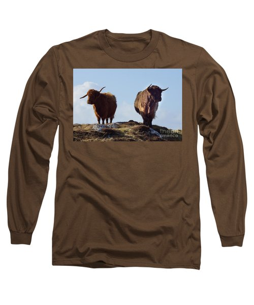 The Highland Cows Long Sleeve T-Shirt