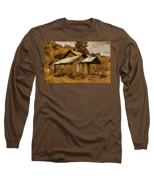 The Hillbilly Cabin Long Sleeve T-Shirt