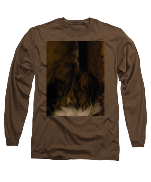 Long Sleeve T-Shirt featuring the photograph The Inn Creeper And His Pet by Christophe Ennis