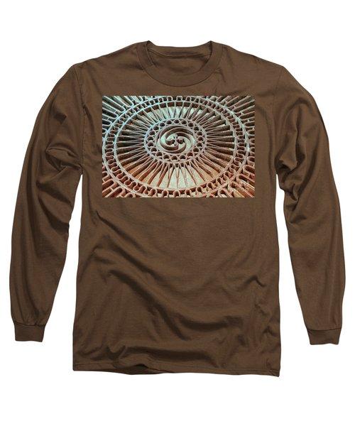 The Iron Lattice Long Sleeve T-Shirt