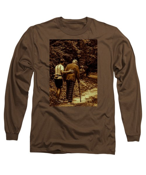 The Journey Long Sleeve T-Shirt by Michael Nowotny