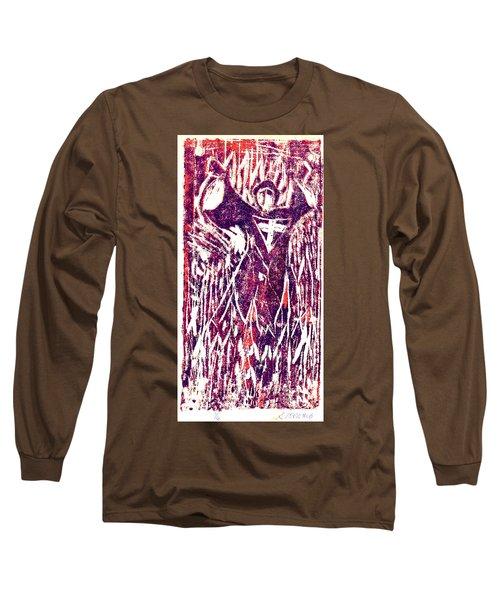 The Journey Of St. John Long Sleeve T-Shirt by Seth Weaver