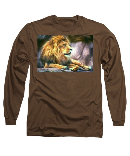 The King Of Cool Long Sleeve T-Shirt by Tina LeCour