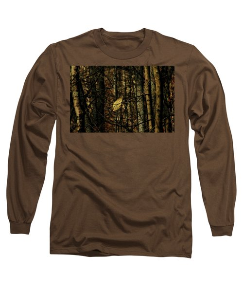 The Last Leaf Long Sleeve T-Shirt by Bruce Patrick Smith