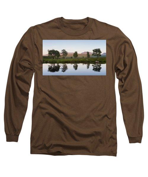 The Last Light At Loch Ba Long Sleeve T-Shirt