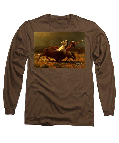 The Last Of The Buffalo Long Sleeve T-Shirt