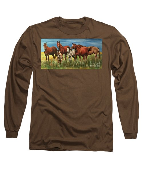 The Leader Of The Pack Long Sleeve T-Shirt