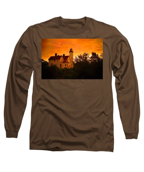 The Light At Dusk Long Sleeve T-Shirt by Daniel Thompson