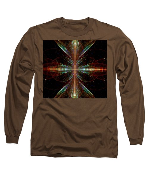 Long Sleeve T-Shirt featuring the digital art The Light Within by Lea Wiggins
