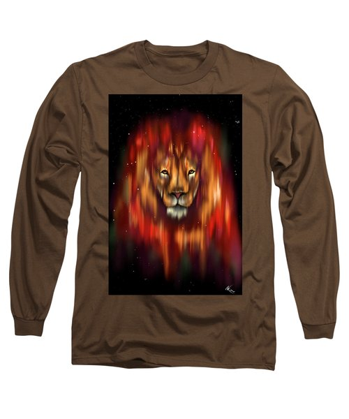 The Lion, The Bull And The Hunter Long Sleeve T-Shirt