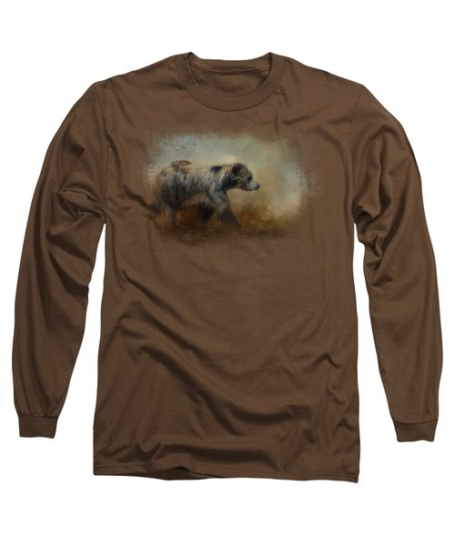 The Long Walk Home Long Sleeve T-Shirt by Jai Johnson