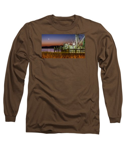 The Low Country Way - Folly Beach Sc Long Sleeve T-Shirt