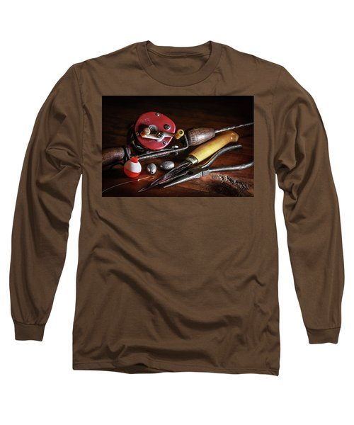 Long Sleeve T-Shirt featuring the photograph The Lure Of Fishing by Ray Congrove