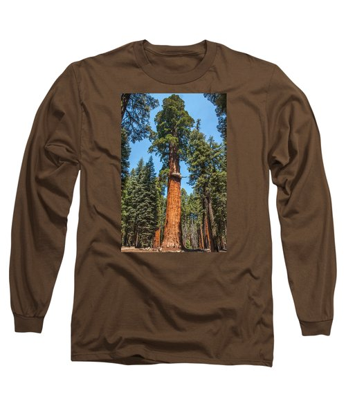 The Mckinley Giant Sequoia Tree Sequoia National Park Long Sleeve T-Shirt