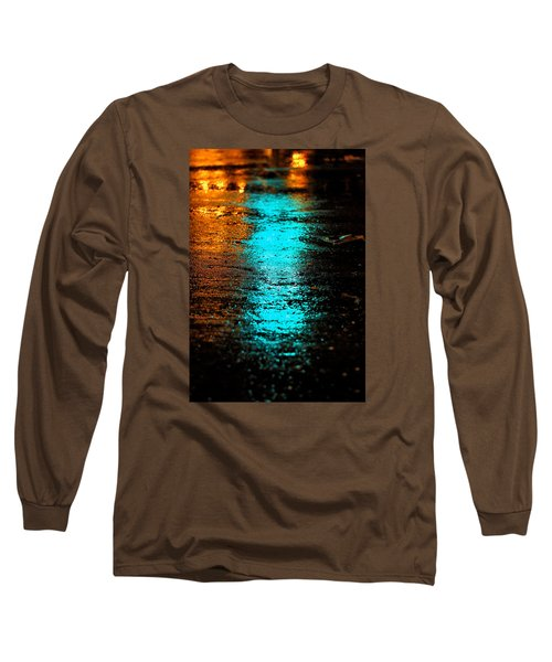 Long Sleeve T-Shirt featuring the photograph The Memory Lane II by Prakash Ghai