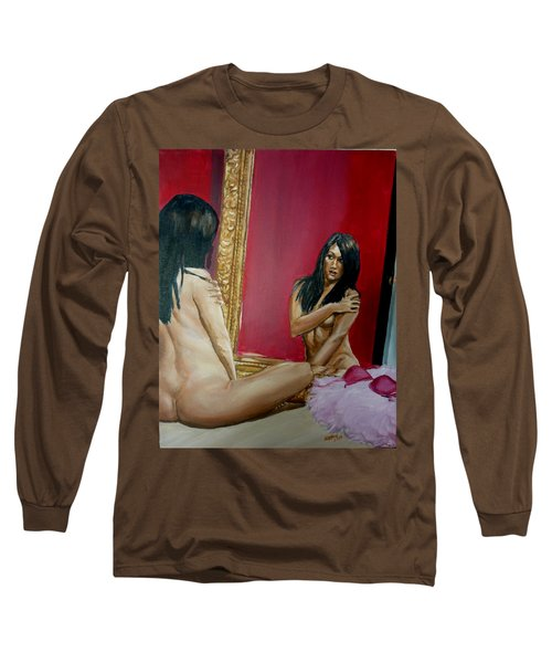 The Mirror Long Sleeve T-Shirt by Bryan Bustard