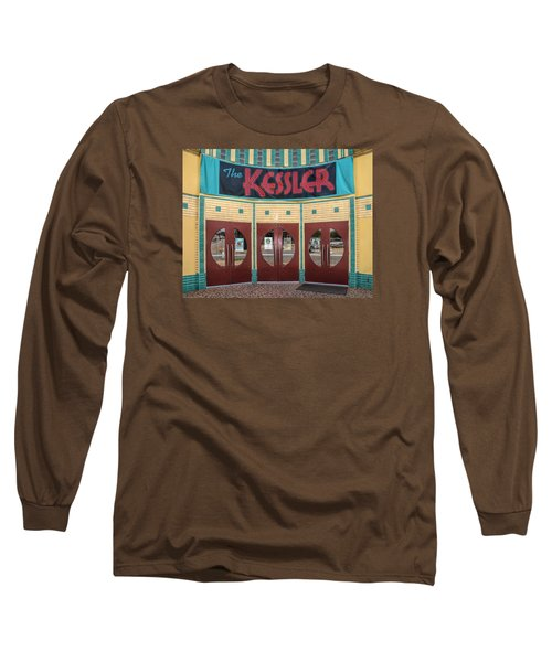 The Movie Theater Long Sleeve T-Shirt by David and Carol Kelly