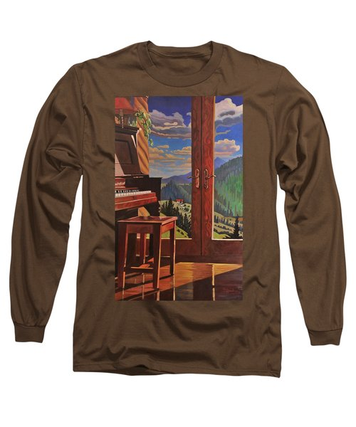 The Music Room Long Sleeve T-Shirt by Art West