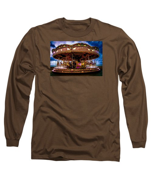Long Sleeve T-Shirt featuring the photograph The Mystical Dragon Chariot by Chris Lord