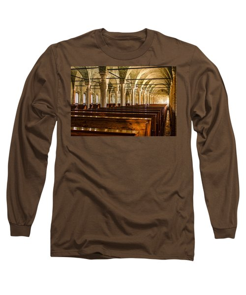 The Name Of The Rose - Hdr Long Sleeve T-Shirt