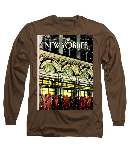 The New Yorker Cover - January 18th, 1988 Long Sleeve T-Shirt