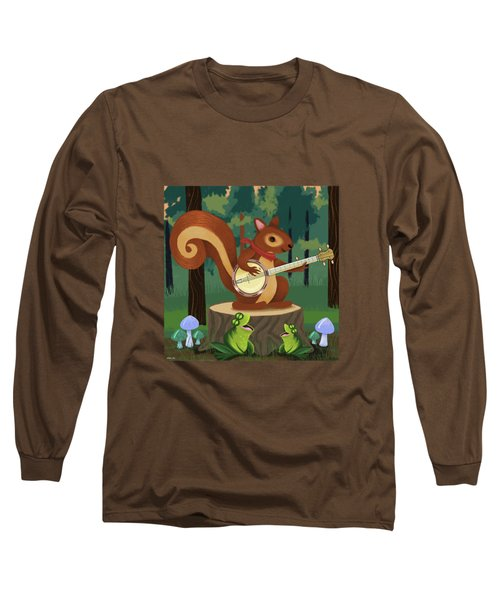 The Nutport Croak Music Festival Long Sleeve T-Shirt by Little Bunny Sunshine