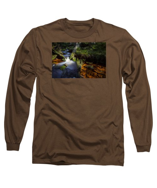 the Oder in the Harz National Park Long Sleeve T-Shirt by Andreas Levi